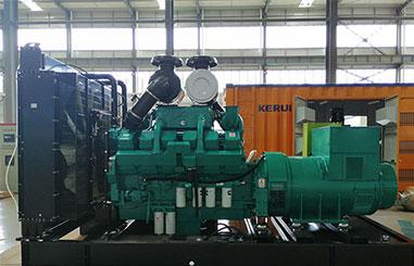 800kw柴油发电机组停机后的检查工作